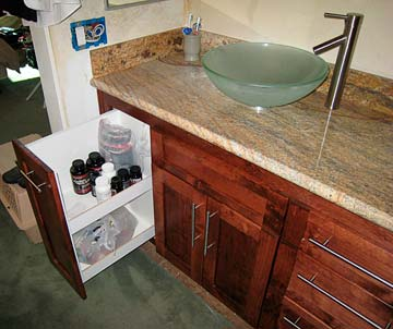 Bathroom Cabinets from Darryn's Custom Cabinets serving Los Angeles ...