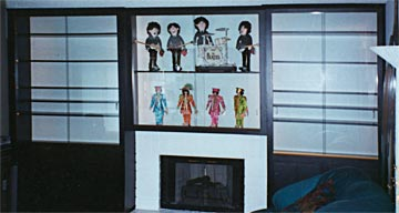 display cabinets, custom