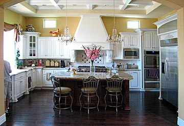 Custom White Kitchen custom white kitchen cabinets | winda 7 furniture