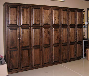 wood garage storage cabinets with doors | woodideas