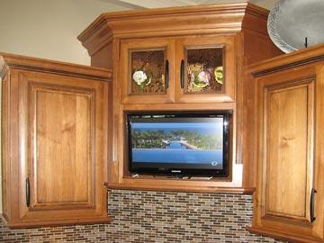 Built-In TV,Under Cabinet TV,Kitchen TV,kitchen cabinet