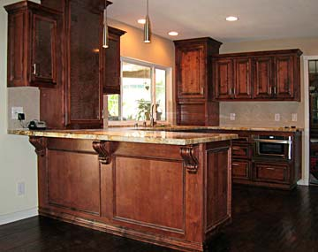Corbels On Kitchen Island View More Of This Kitchen