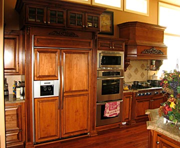 refrigerator cabinetry