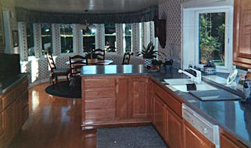 kitchen cabinetry, solid wood
