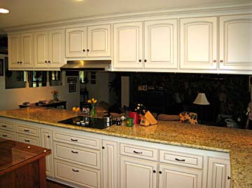custom cabinetry, granite counter