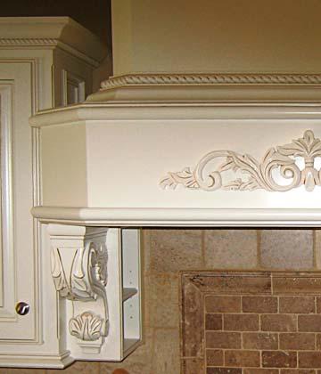 Darryn S Custom Cabinets Hand Carved Corbels Toe Kick